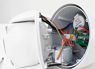 Установка карты памяти в камеру видеонаблюдения