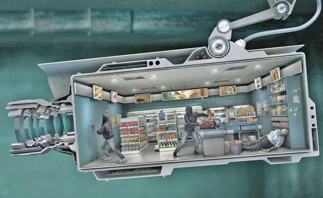 Камеры видеонаблюдения для магазина