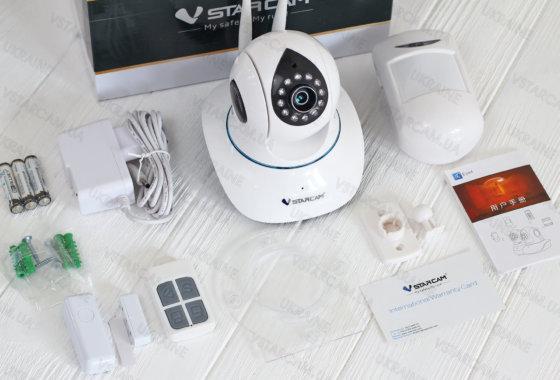 Комплект безопасный дом VSTARCAM