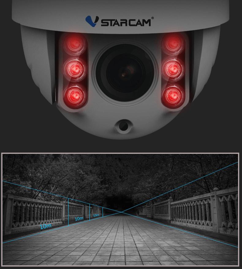 IP камеры видеонаблюдения VSTARCAM Украина