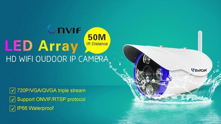IP камера видеонаблюдения VSTARCAM C7850WIP